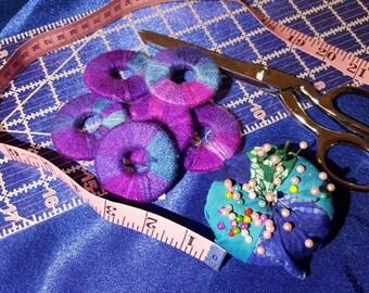 Handmade pattern weight set option of magnet