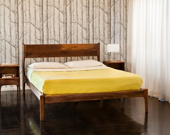 Danish modern bed | Etsy