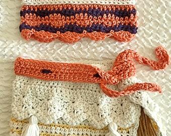 Moana Costume Crochet ***Pattern only****Girls Toddlers Sizes Newborn- 24m