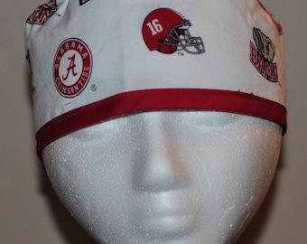 University of Alabama  - Men's Scrub Cap Hat - One Size Fits Most