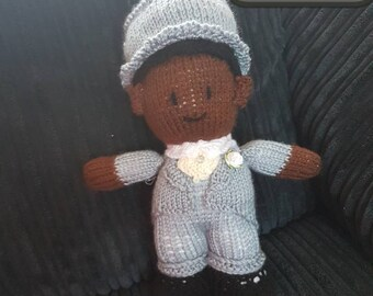 Knitted Brides and Grooms