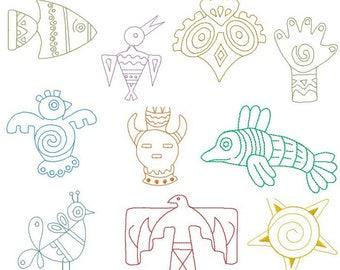 Native Art Appliques
