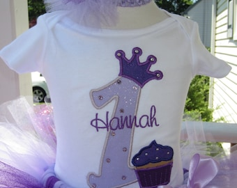 Personalized Birthday Crown tee / bodysuit