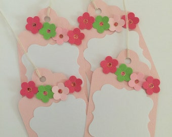 Favor Tags Birthday Favor Tags Gift Tags Baby Shower Birthday Gift Tags (12CT)