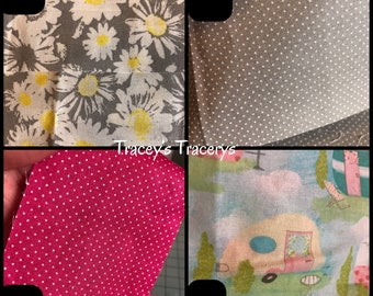 Custom placemats - make your own Boxy Zipper Bags - table linens