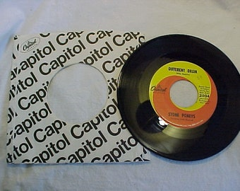 1967 Stone Poneys Vinyl 45 RPM Capitol Records No. 2004 , Vintage Rock N Roll 45 RPM Vinyl Record with the original Sleeve