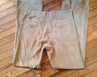 Vintage Levi's 1970's Brushed Cotton Pants Mens 34 x 34