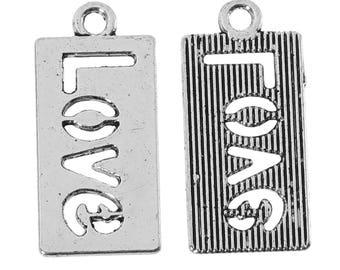 LOVE Charm - Set of 12 - #JKL121C