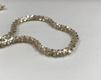 Vintage  925  Sterling Silver Solid, Heavy Necklace !!   Free US Shipping!!!