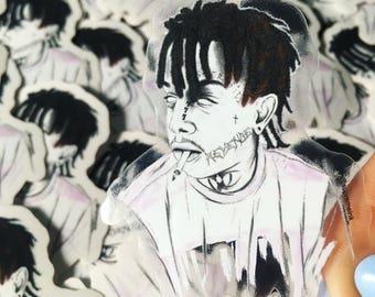 SUPREME INK stickers autocollants Travis Scott The Game Trippie Red XXX tentacion Kendrick Lamar The Slumpgod Method Man Skepta Air Max 97