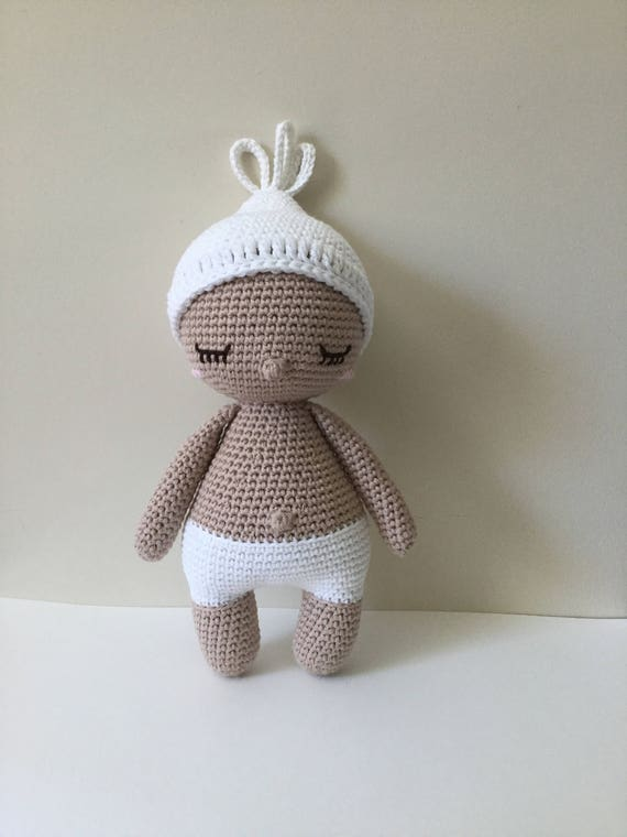 Baby Hoki Handmade Crochet Baby Doll pattern by Amour Fou /