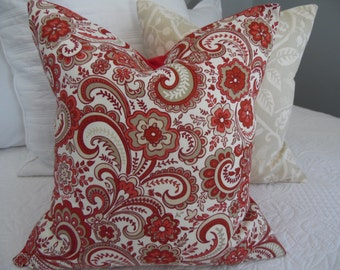 Russet.Red,Cream,Griege,Ivory,Taupe,Natural Fall Pillow Covers. FALL,Christmas,Winter.Slipcovers.Home Decor.