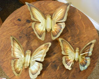 Metallic Bendable Vintage Butterflies