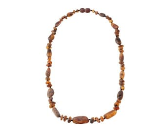 Baltic Natural Raw Amber Necklace