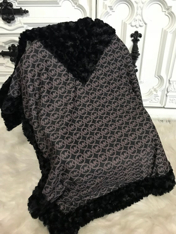 Baby blanket , minky baby blanket , MK inspired