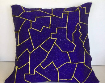 Decorative handmade pillow