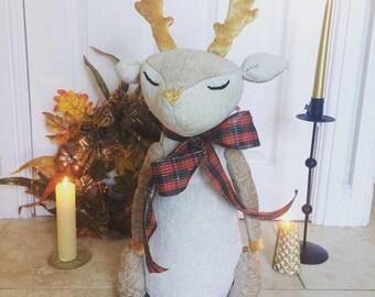 Large Starry Yuletide Reindeer- 60cm tall