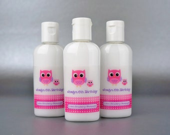 Personalized. Owl. Hand Lotion