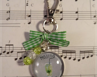 Keyring / bag please mojito