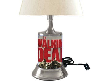Walking Dead Lamp with shade