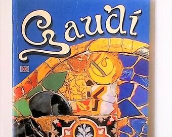Gaudi, guidebook with images