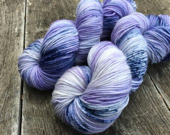 Hand dyed yarn Dandy sock -'Future'