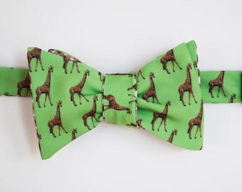 Giraffe Bow Tie