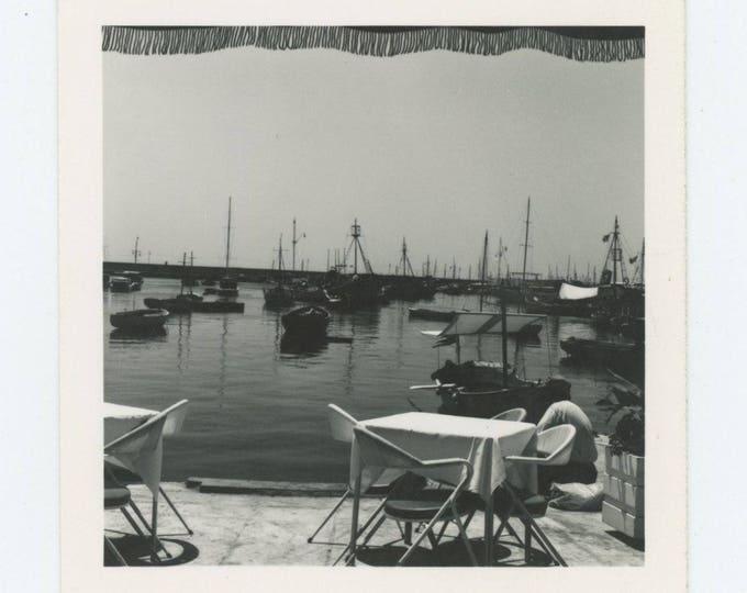 Vintage Snapshot Photo: Harbor, c1960s (712626)