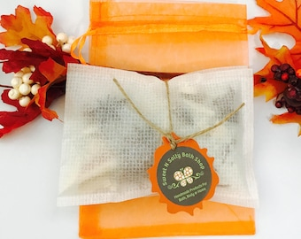 Autumn Scents Scented Aroma Bead Drawer Sachets Set of Two
