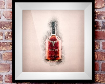 Dalmore Astrum - Crosshatch Whisky Wall Art