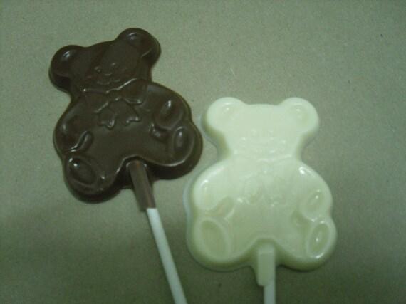 Teddy Bear Lollipops