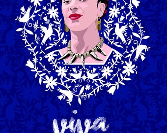 Poster Frida Kahlo A3, print A3 Frida Kahlo, poster in tube A3 Frida Kahlo