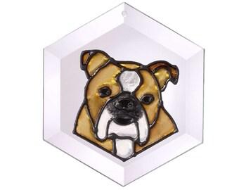 English Bulldog Sun Catcher