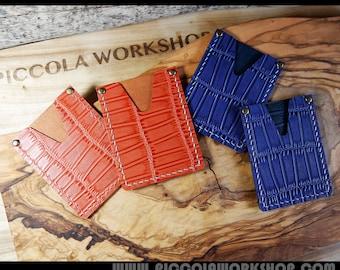 Business Card Holder,Card Holder,Money Holder,Leather Card Cash Wallet,Hand Stitched Genuine Leathers