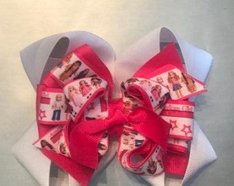 American Girl doll stacked boutique 6 inch bow