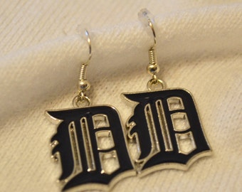 Detroit Tigers earrings