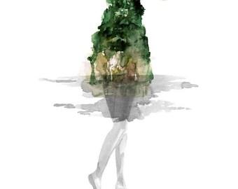 Surfacing | A Limited Edition Fine Art Giclée Print by Joanna Layla