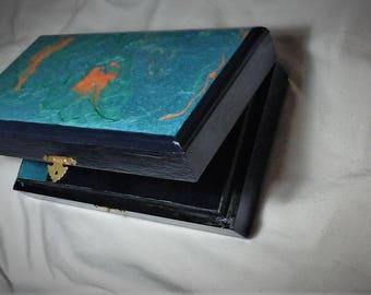 Ornamental Box / decorative jewelry box