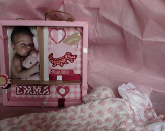 birth gift for Emma to place a photo, a message...