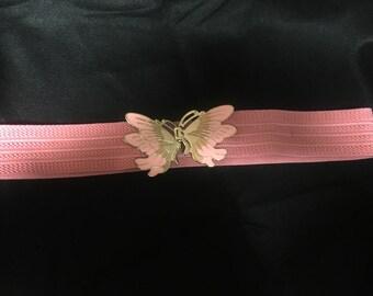 80's stretchy butterfly belt