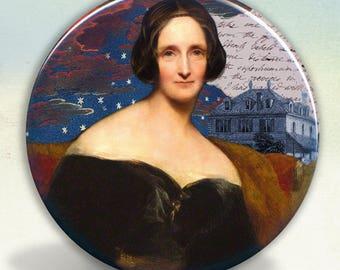 Mary Shelley Pocket Mirror tartx