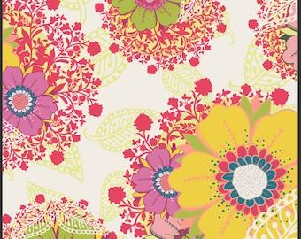 SALE Rhapsodia Flowers Fabric 1 Yard Art Gallery