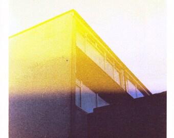 Flat Haze - A4 Risograph print