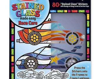 Kit to make two stained glass