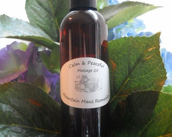 Mental Clarity Massage Oil