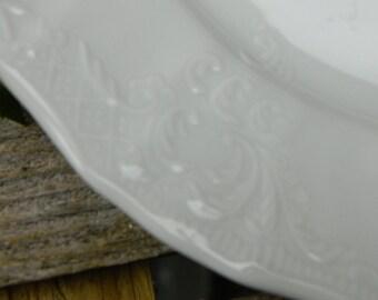Set of 6  Bernadotte Fine Porcelain Salad Dessert Plates - Czech Republic