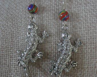 Iguana / Lizard Earrings