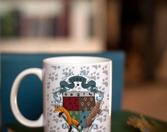 Furry crest of Arms - Mug
