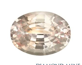 2.12 Carat Pink Sapphire, Oval cut Sapphire, Loose Sapphire Gemstone, Pink Gemstone, Non Heated Real Sapphire