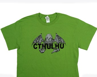 Cthulhu T-Shirt by Crazed Lemming